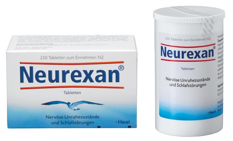 Packshot Neurexan Tabletten 250er