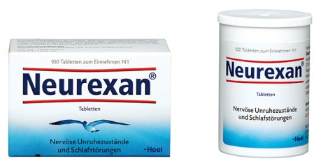 Packshot Neurexan Tabletten 100er