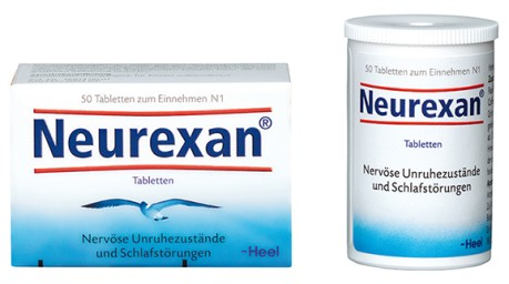 Packshot Neurexan Tabletten 50er