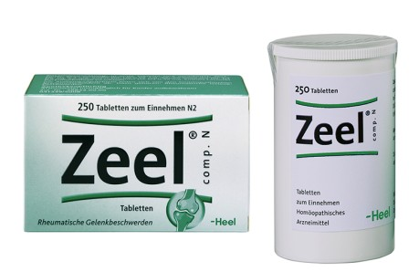 Packshot Zeel 250 Tabletten