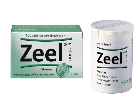 Packshot Zeel 100 Tabletten